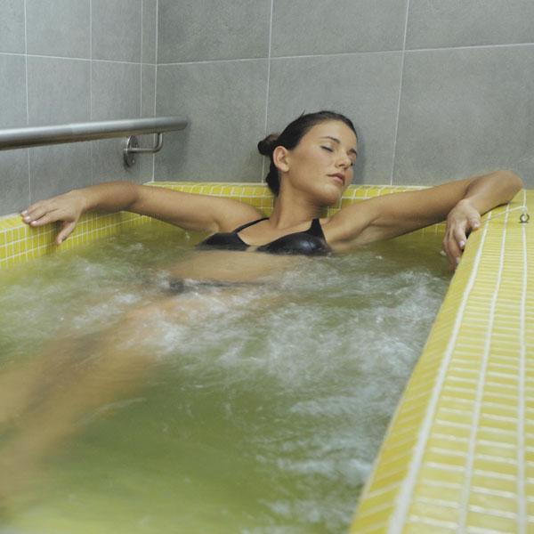 Bagno termale con ozono